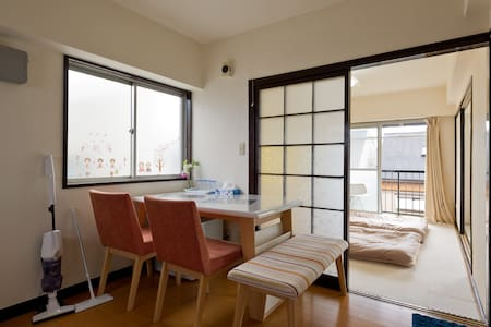 Convenient Flat to Anywhere/Quiet Area/NewOpen!!! - Shinjuku - Apartment