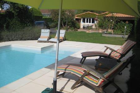 Maison proche de Nantes + piscine - La Haie-Fouassière - Huis