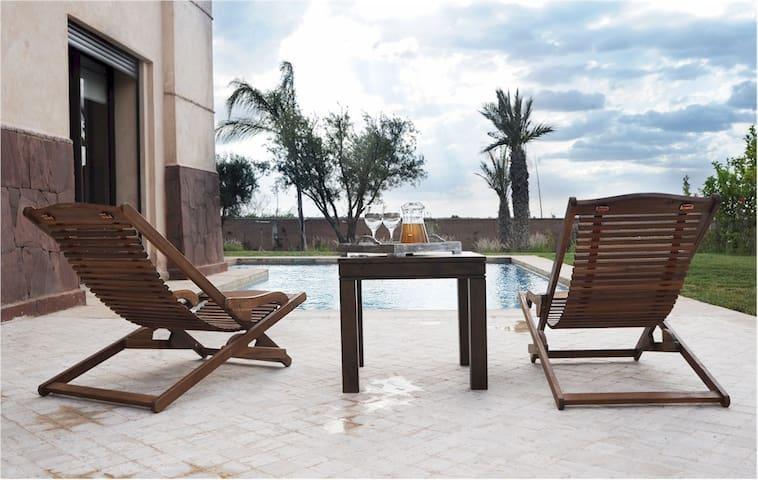 Villa de standing avec piscine et jardin privés - Marrakech - Villa