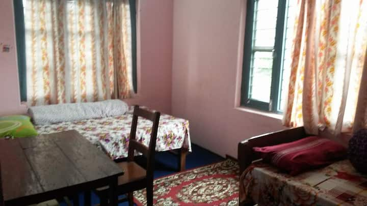 Home stay with nice Nepali family (Room 2)