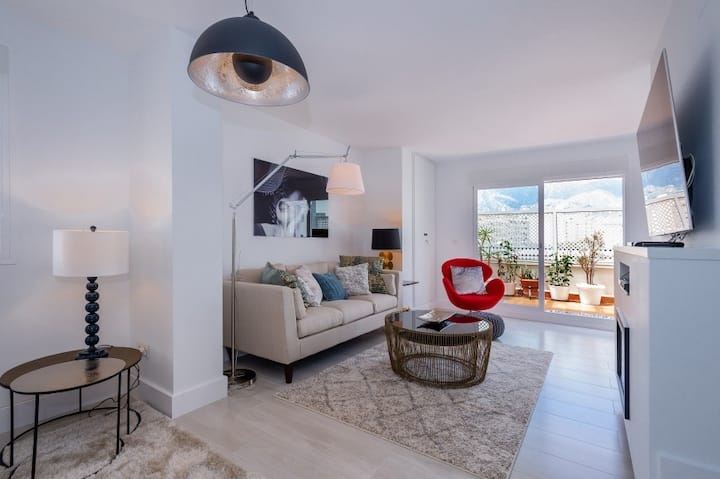 Luxury Penthouse with Sea view central Marbella