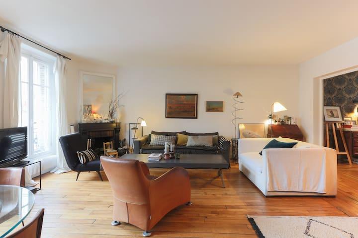 Appartement lumineux et plein de charme