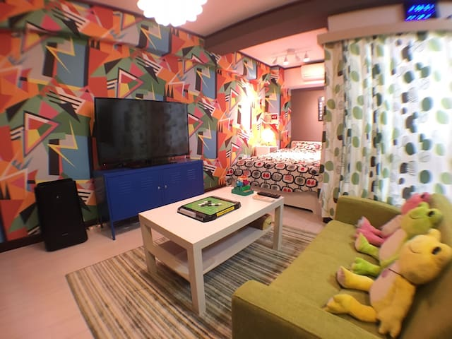 M-3 ☆ 2 quiet room ☆ cheap-Station near! Wi-Fifree - Osaka Miyakojima-ku