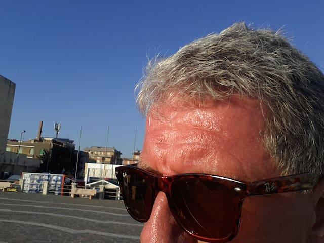 Nära stranden(100m) Nära Rom(20km) Stor terass 120 - Rome - Apartment