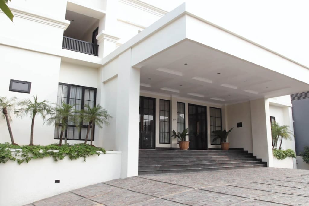 Front of Bangka Suite