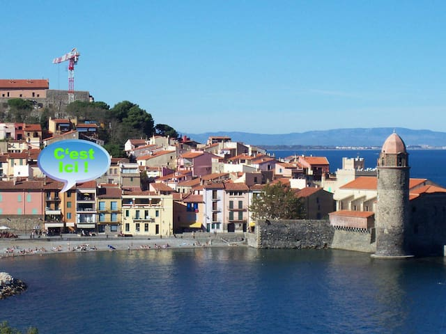 The place to be in Collioure - Collioure - Apartment
