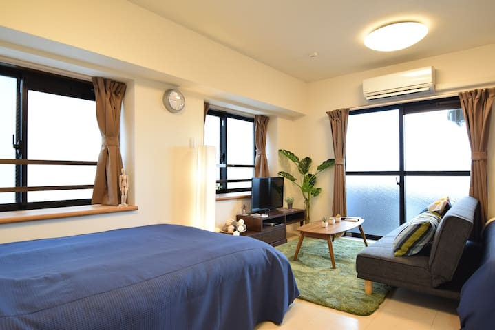 Stay at Haneda airport, Tokyo's first/last stop!^^ - Ota - Appartement