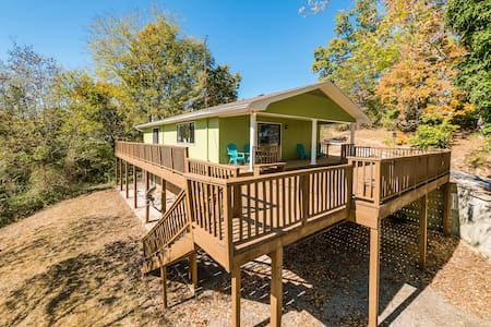 Lakeside Retreat-Bass House, lake, dock, fishing - Dayton - Ev