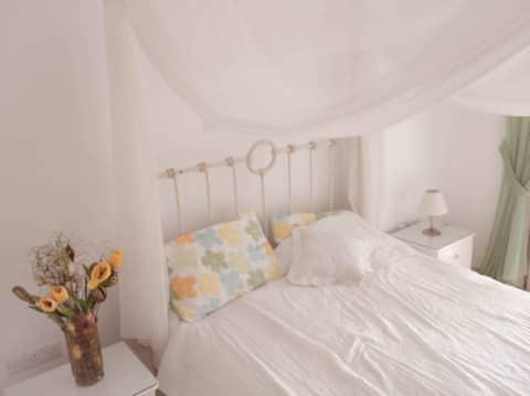 Pretty Bedroom in Villa Near the Sea