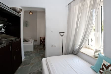 Amarieliaone bedroom apartment grey - Tinos