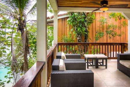 Villa Arenal: ocean view, beach access, pool (6+) - Contadora