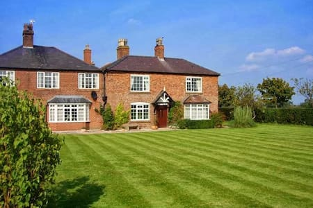 Double room in a farmhouse B&B - Farndon - Inap sarapan