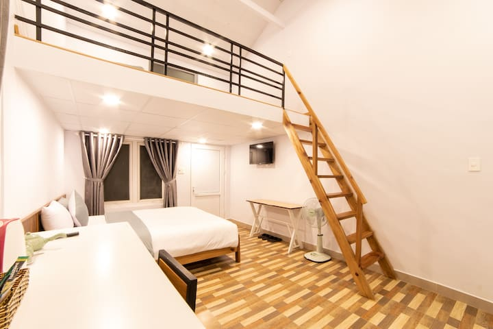 Room - 2 double beds - Da Lat central city