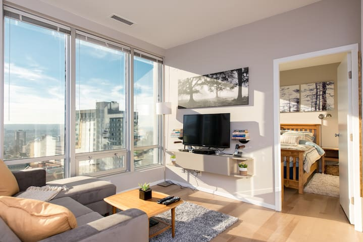 Heart of Downtown/English Bay views - Vancouver - Apartament