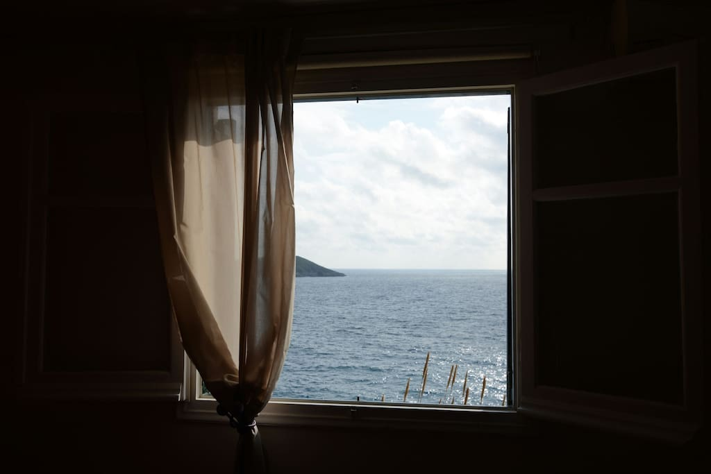 The view from our window.