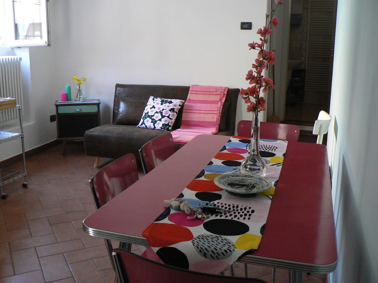 Area salotto-cucina