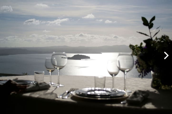 VIEWS, STYLE, LOCATION HALFWAY FLORENCE TO ROME - Montefiascone - Bed & Breakfast