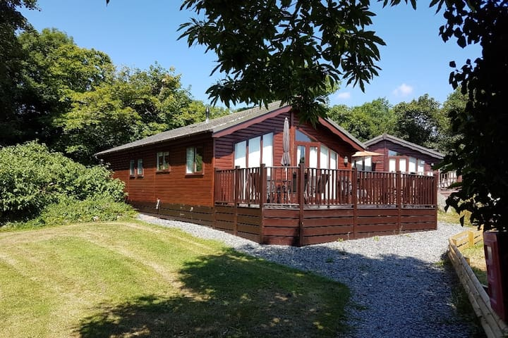 Wood Holiday lodge/cabin in Polperro Looe Cornwall