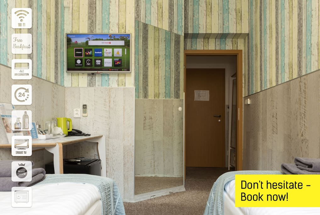 Book now hotel in prague center appartements louer for Hotels in prague centre
