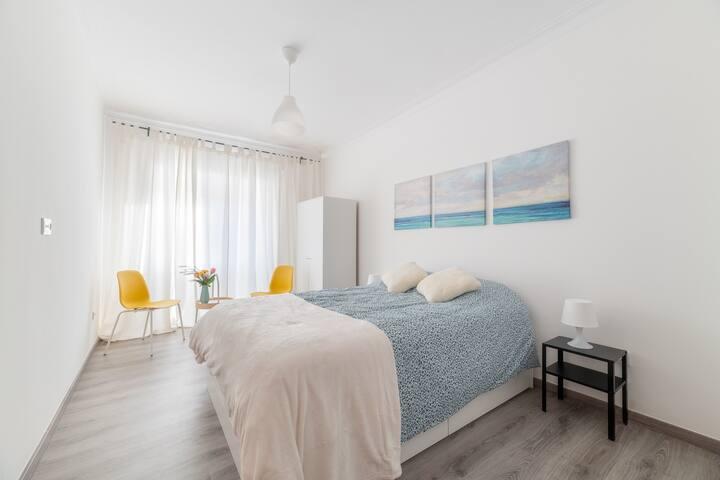 Double Room Ocean - Private WC - Estrela do Almada