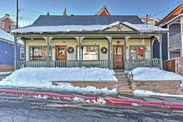 Historic Downtown Park City Home -Walk to Ski Lift
