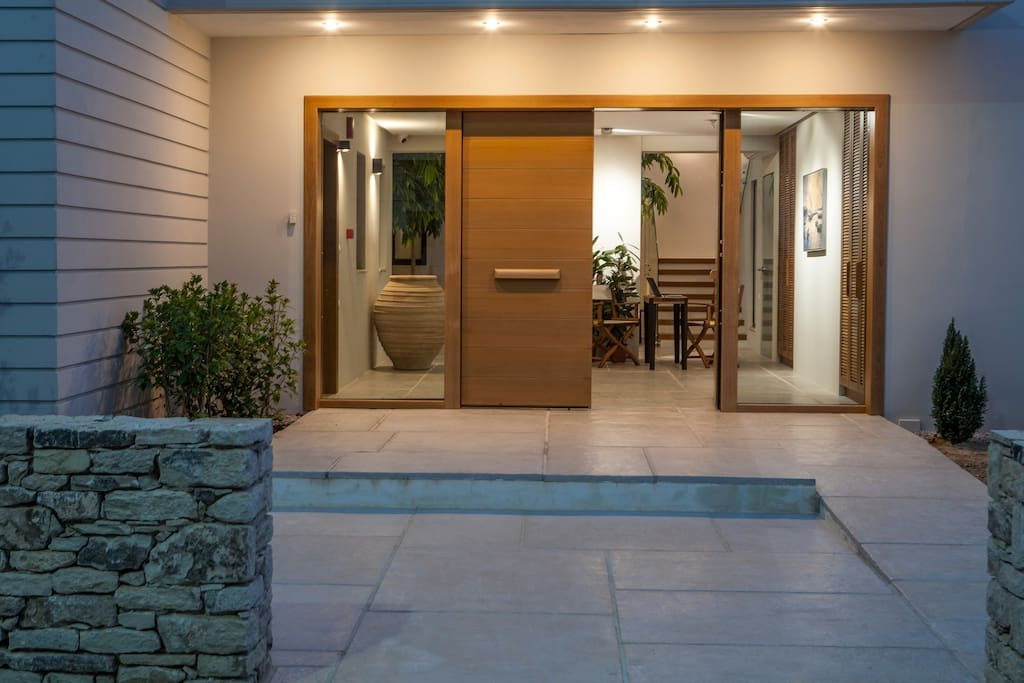 Main Entrance - Aethrion Boutique Homes