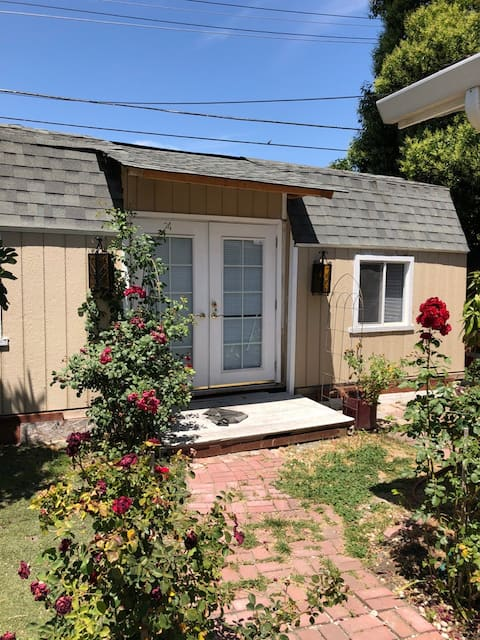 Backyard guest house