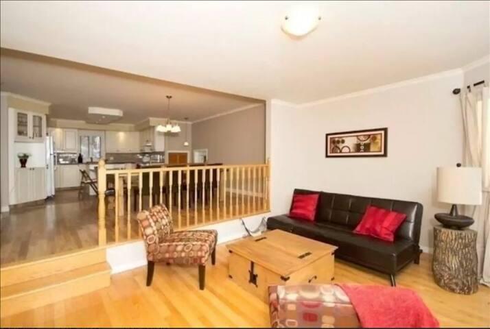 Living Area (Main Floor)