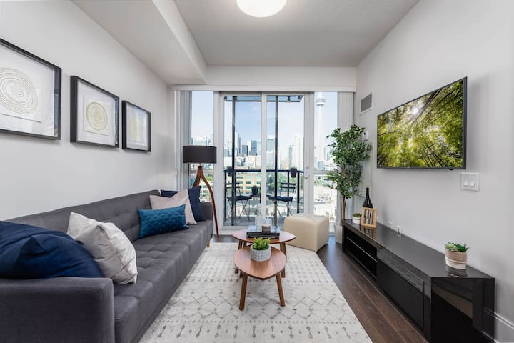 Modern Paradise - 1 BDRM + Sofabed + Easy Parking