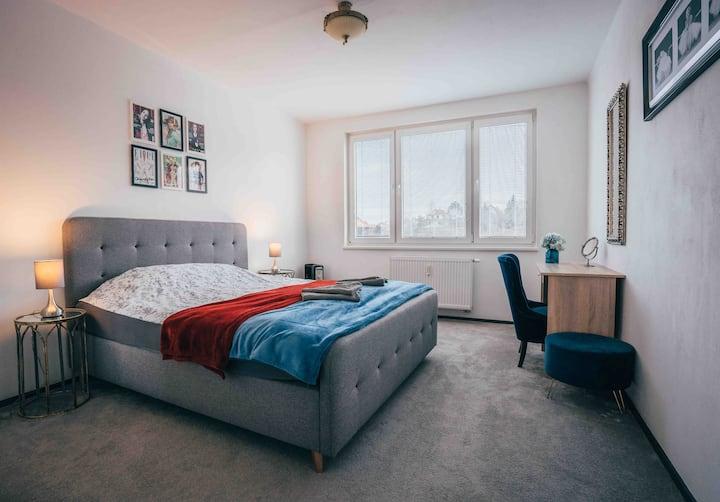 Apartman Velentina 52m 2 . Centr Cesky Krumlov