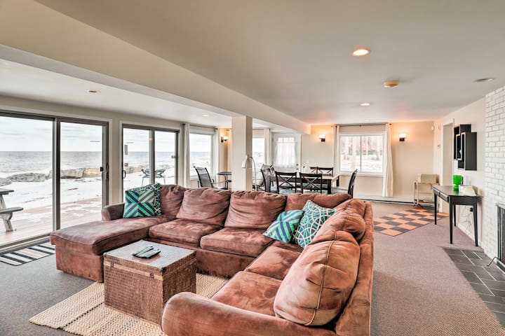 Waterfront Home w/ Private Beach on Lake Ontario!