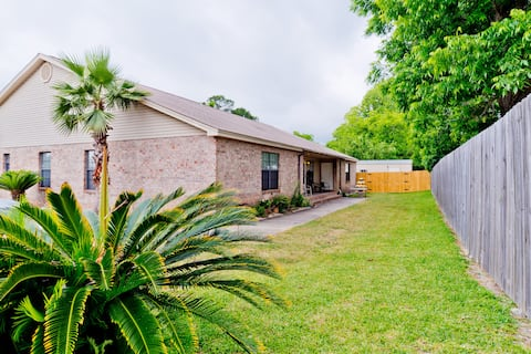 Spacious, private & centrally located.