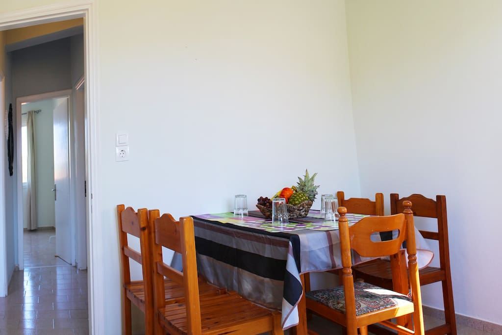 Dining Table at the Kitchen