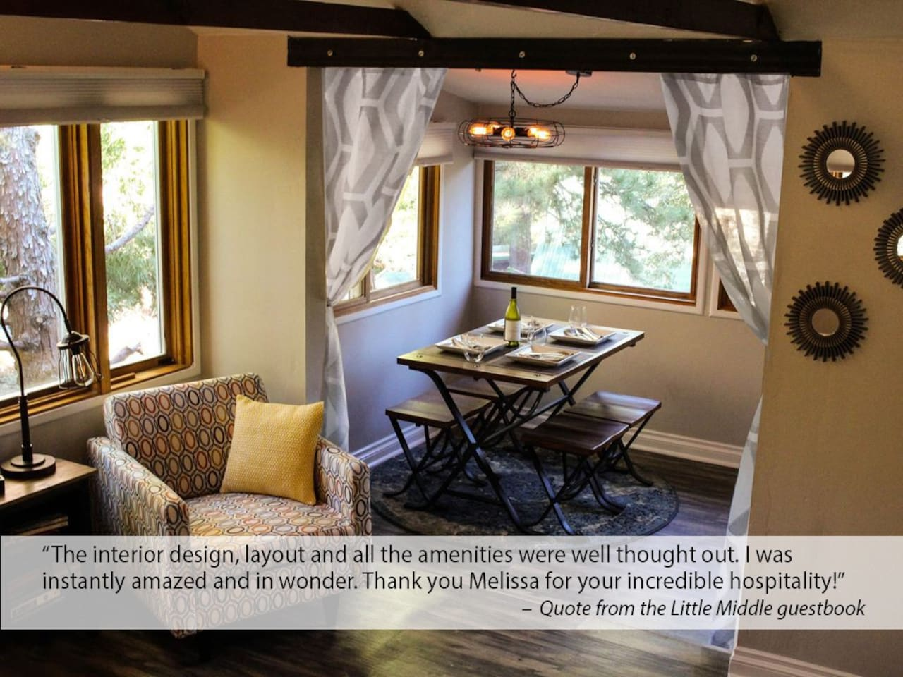 Welcome to your home away from home! My homes give you a 5 star experience. Just read the awesome reviews!
