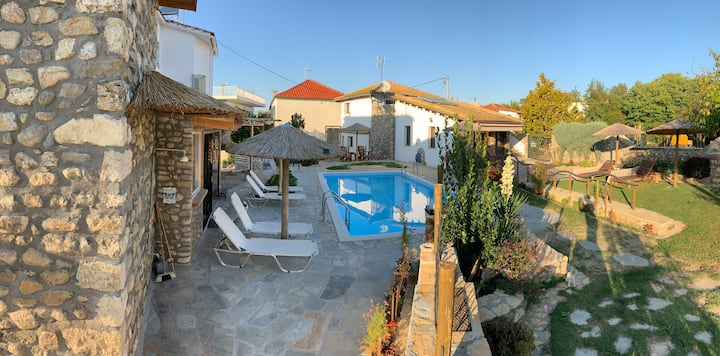 Luxusapartment mit Pool Alexandros Tymbos Kasta