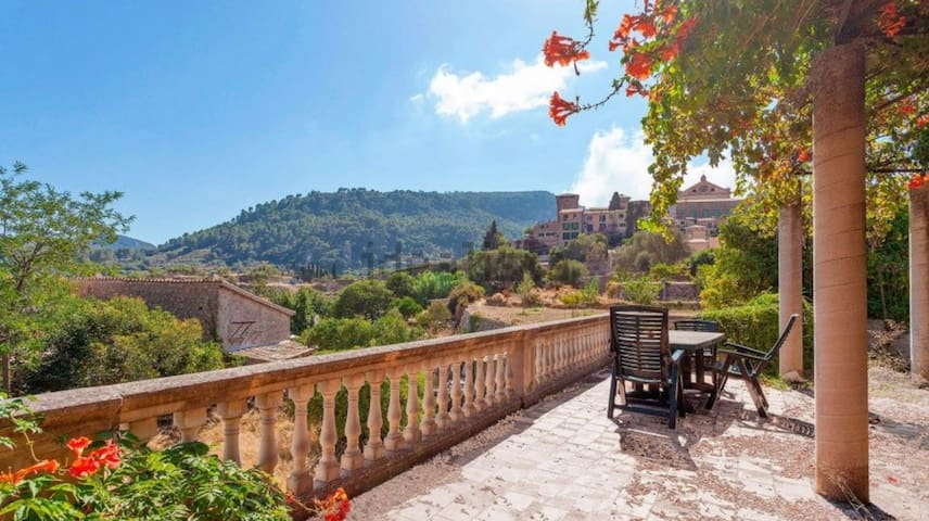 Grand Valldemossa Townhouse with Stunning Views