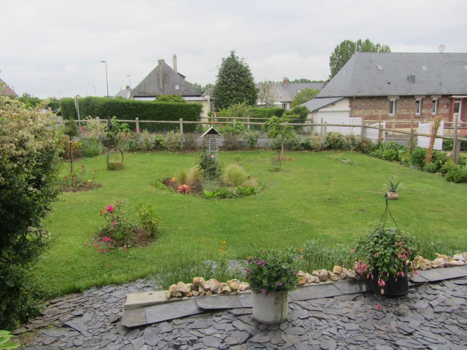 petit jardin paysagé