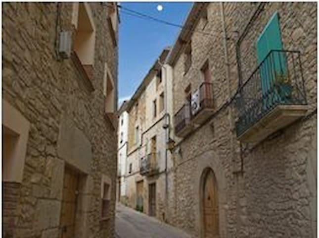 Casa tradicional de piedra. - Rocafort de Queralt - Casa de vacances