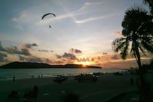 Sunset in Cenang beach!