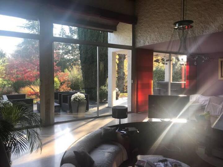 Chambre Double dans villa (3)