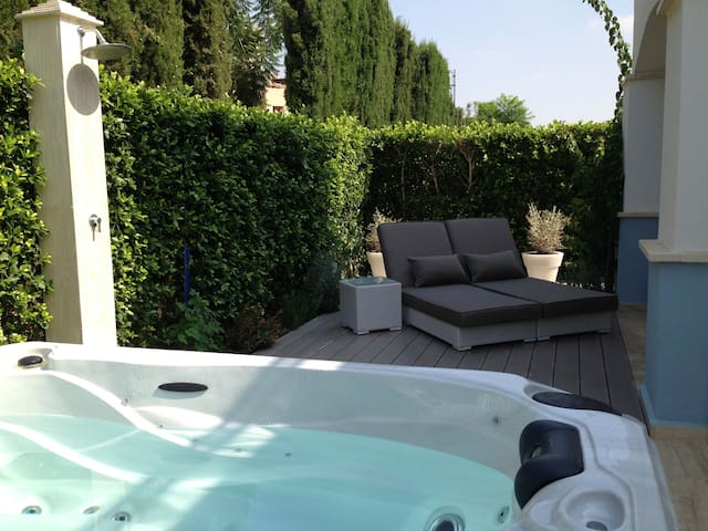 Villa with Jacuzzi and 2 terraces - Torre-Pacheco - Hus