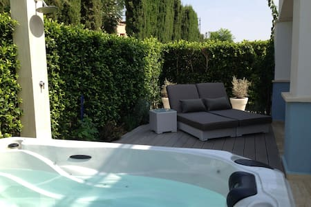 Villa with Jacuzzi and 2 terraces - Torre-Pacheco