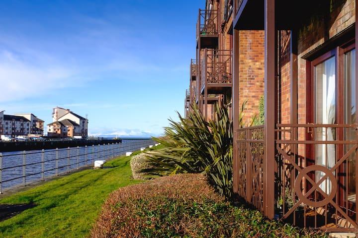 Ayr riverside apartment