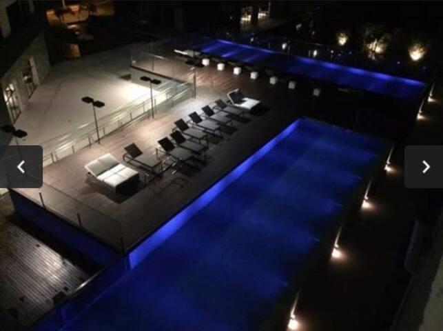 Excelente localização e estrutura de resort!