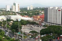 Alabang Town Center is a few minutes ride from Our Pad