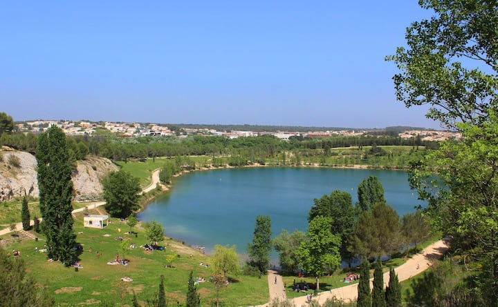 Havre de paix très proche Montpellier, Lac du Crès
