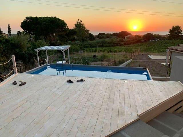 Badesi a mare Villa nuova con piscina privata