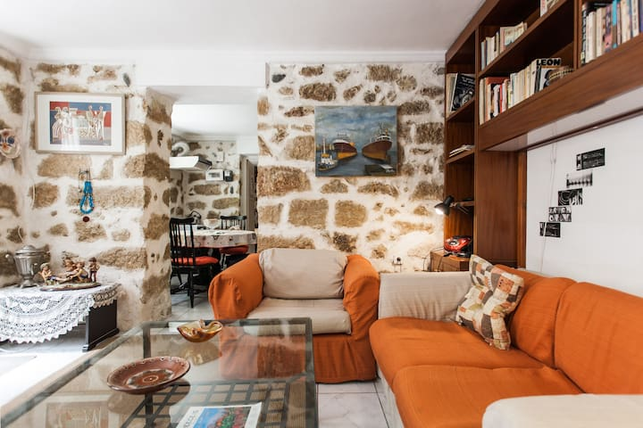 Acropolis truly charming stone built lodging