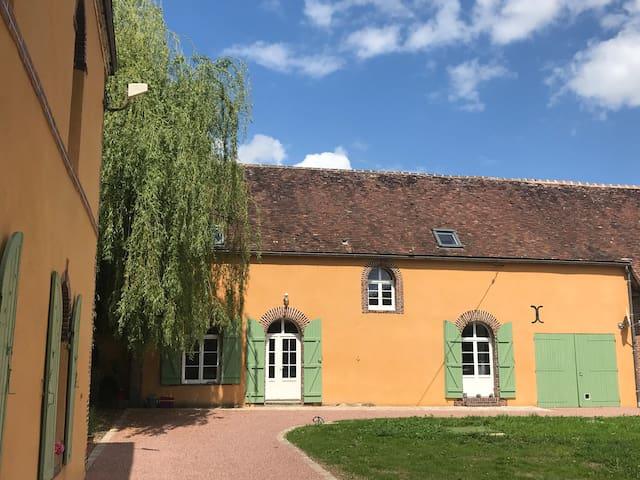 Au Moulin de Courvoisier : Maison 8 personnes