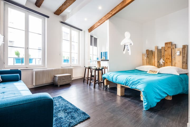 SWEET STUDIO LITTLE FRANCE WIFI 3PE - Strasburgo - Appartamento